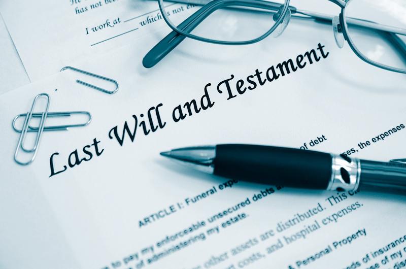 Es importante tener un testamento