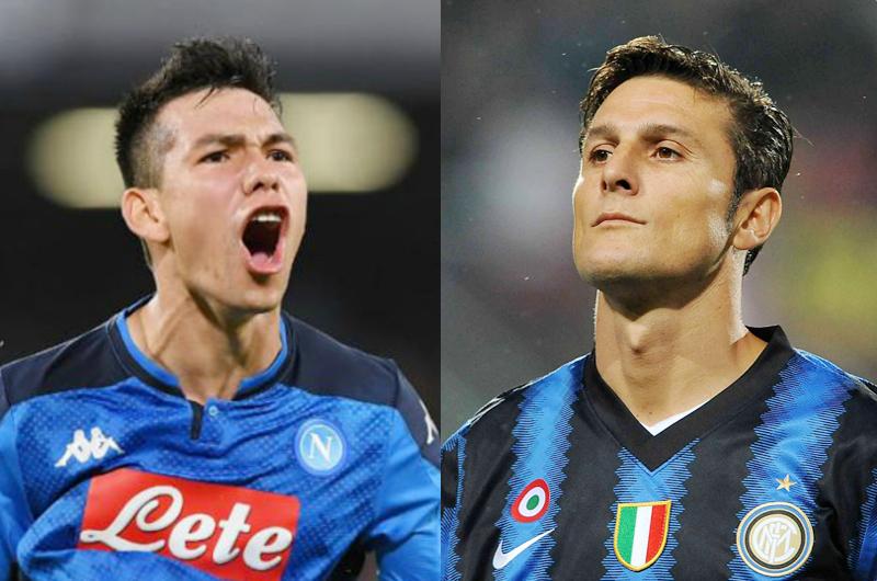 Javier Zanetti defiende de críticas a Hirving Lozano