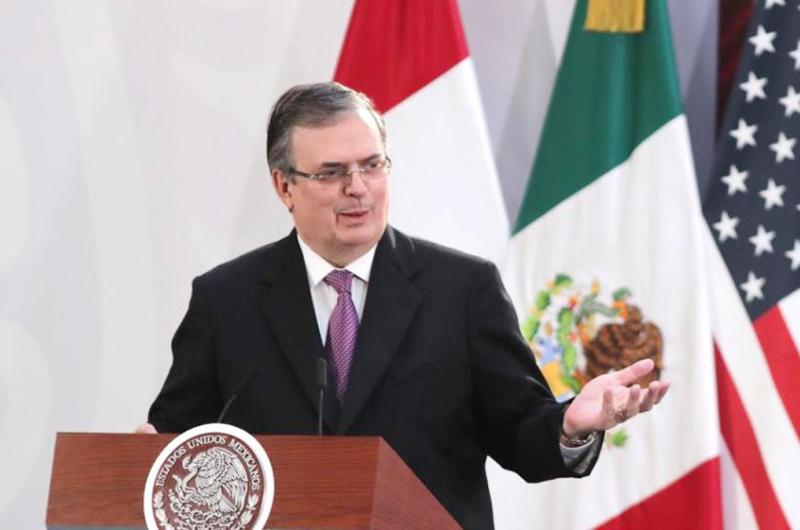 Ebrard celebra labor de diplomáticos en caso de exfuncionarios bolivianos