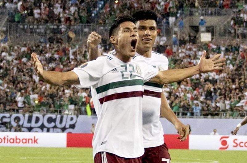 México sufre para vencer 3-2 a Martinica en Copa Oro