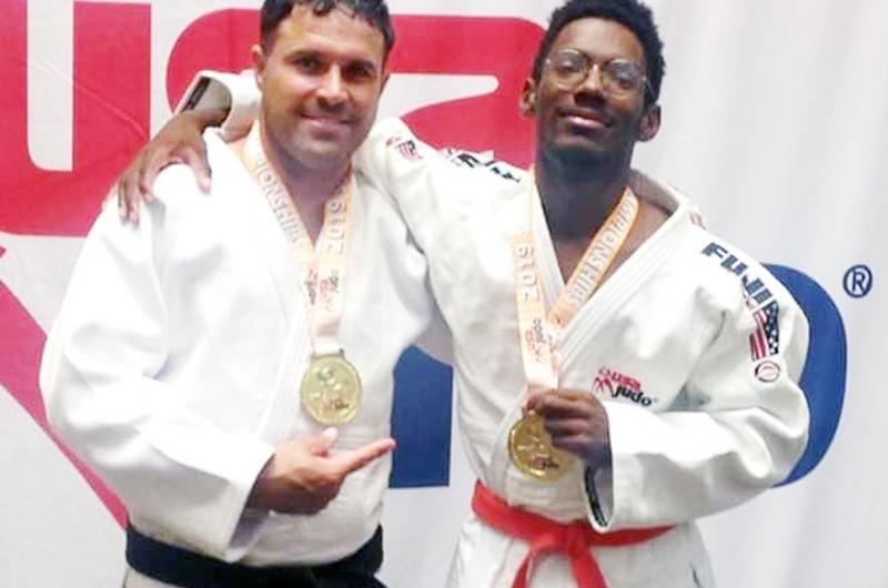 Thomas y Acebal, alumnos del Ryoku Judo Club, conquistaron medallas de oro