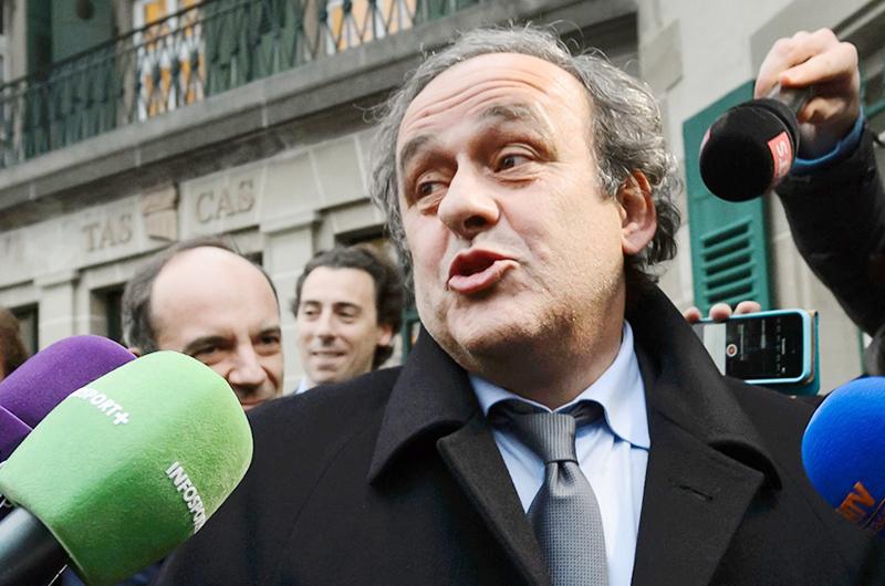 Detienen a Michel Platini por corrupción
