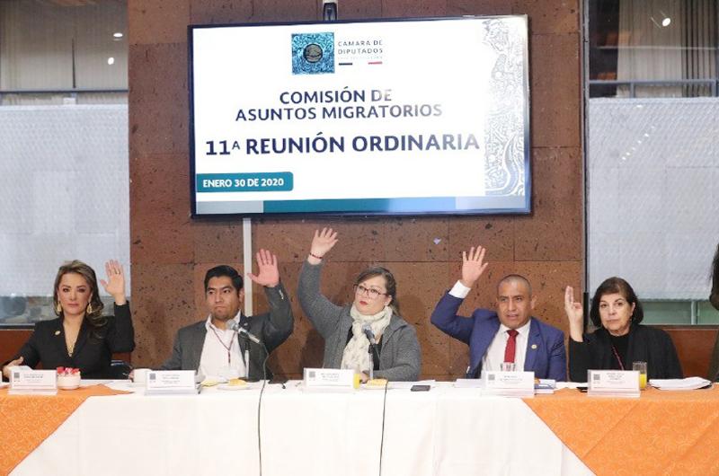 Exhorta el PRD a respetar derechos humanos de migrantes
