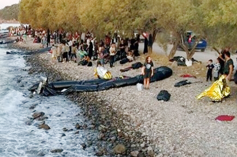"""Grecia al """"límite"""" en materia de migración"""