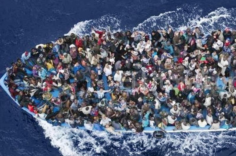 Mediterráneo, cementerio de migrantes y refugiados