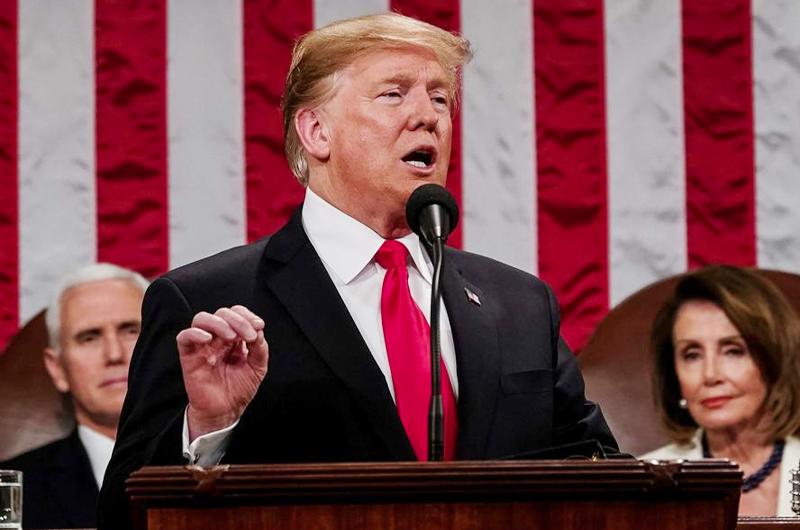 Trump anuncia que reforzará seguridad de la frontera sur de EUA