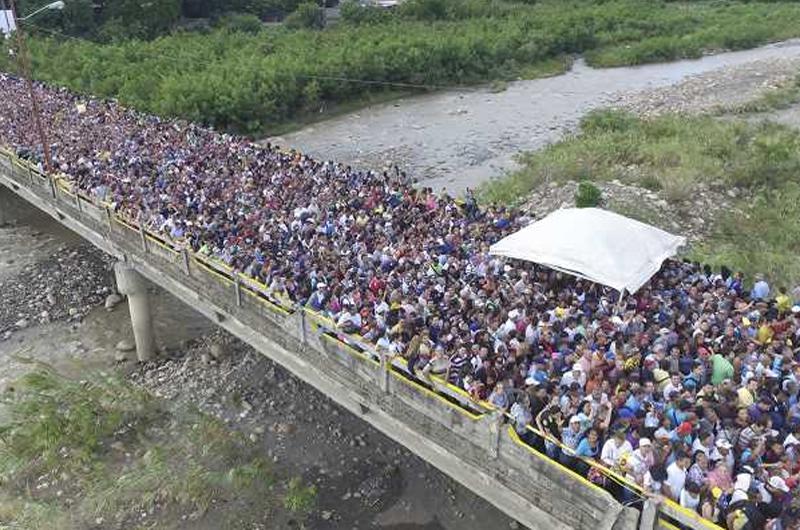 Migración de venezolanos podría llegar a tres millones en Colombia