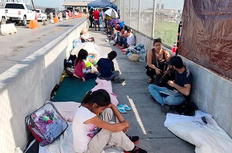 Devuelven 51 mil solicitudes de asilo en Estados Unidos