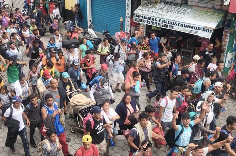 Reportan ingreso de ocho mil 373 migrantes por la frontera sur del país