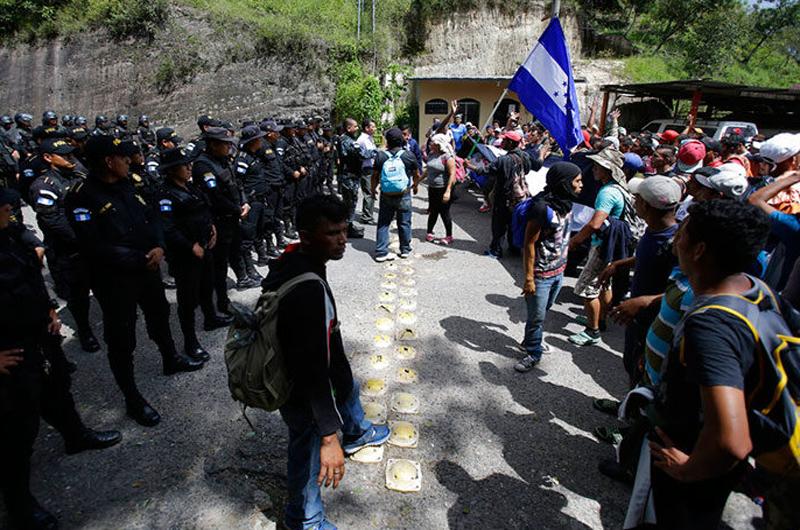 Guatemala preparada ante nueva caravana de migrantes hondureños