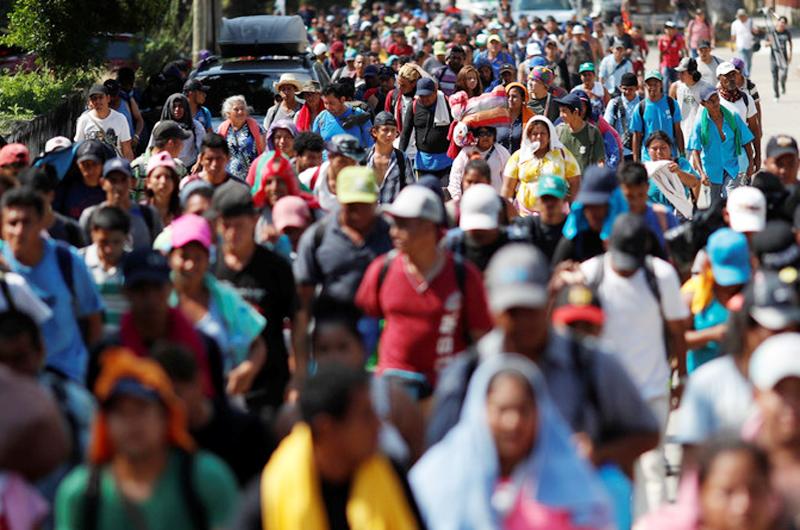 Migrantes albergados en la capital partirían el jueves rumbo a EUA