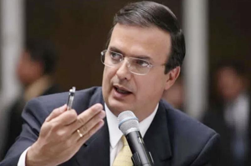 Disminuye migración de centroamericanos hacia EUA, destaca Ebrard