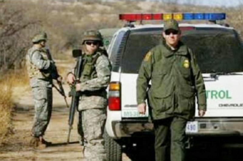 Patrulla Fronteriza se prepara en control de multitudes ante caravanas