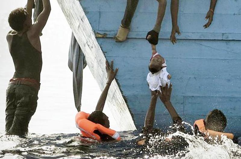 Mediterráneo tumba de centenares de migrantes