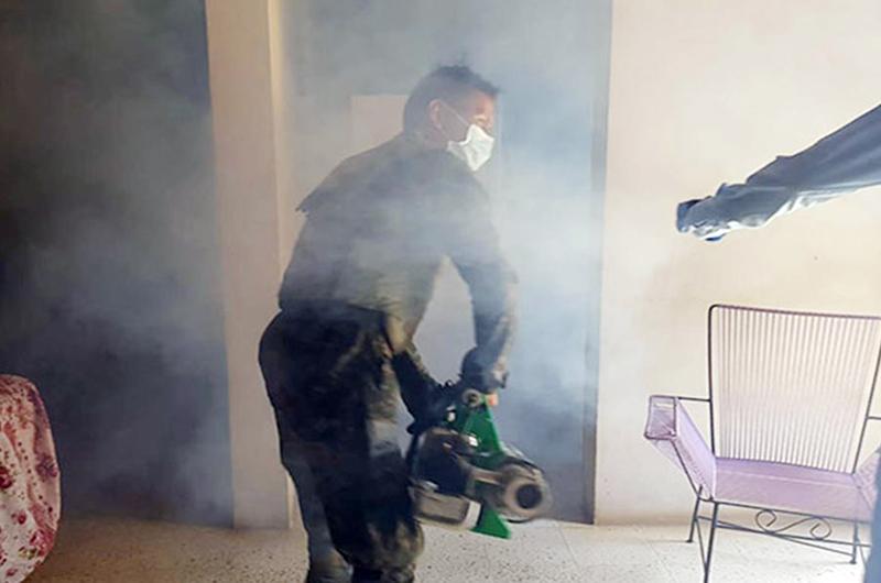 Militares hondureños se unen a la lucha contra el dengue