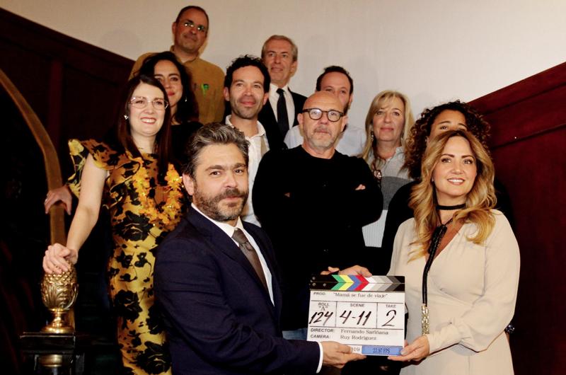 """Emociona a Andrea Legarreta regresar al cine con """"Mamá se fue de viaje"""""""