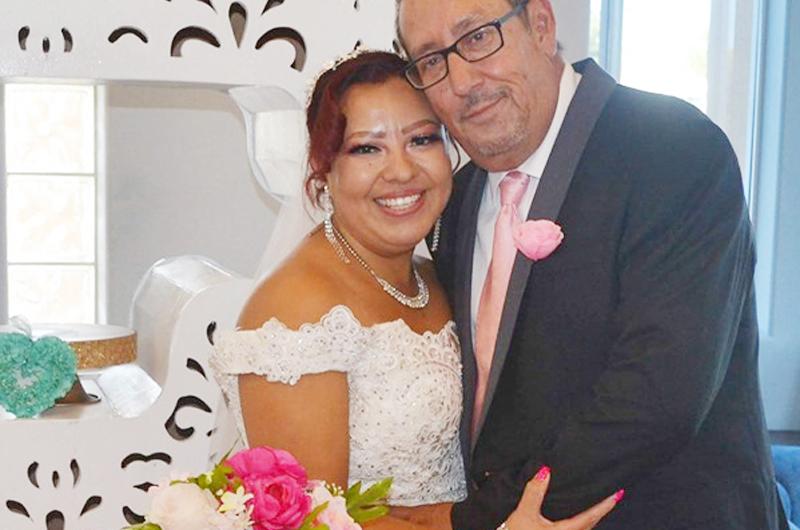 Contrajeron matrimonio Edmundo Escobedo Jr., y Marychuy de Jesús Valadéz