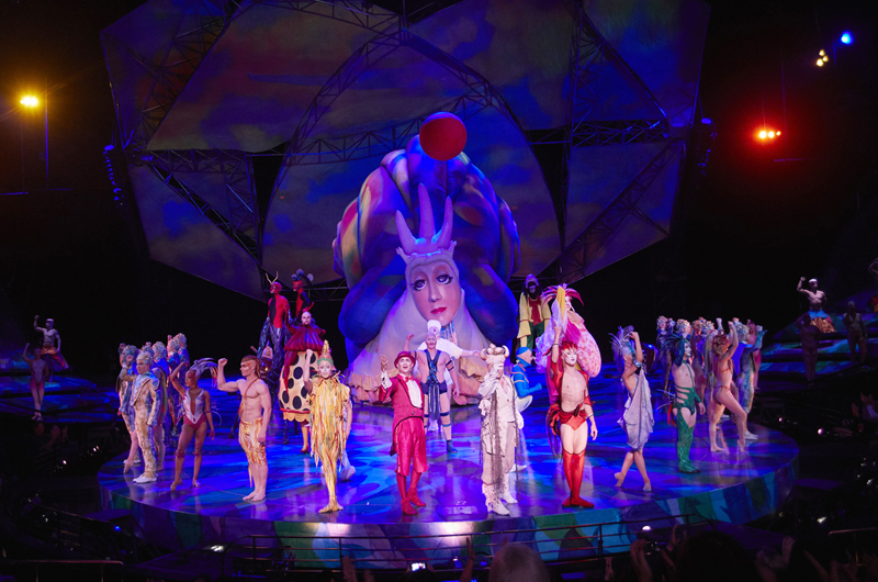Celebra Cirque Du Soleil 25 años en LV con nuevos actos en el show de Mystère