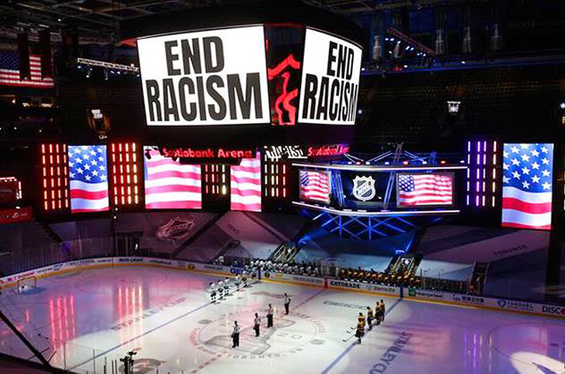 El deporte en Estados Unidos se planta contra el racismo