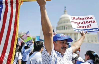 Mantiene Casa Blanca optimismo sobre reforma migratoria en 2014