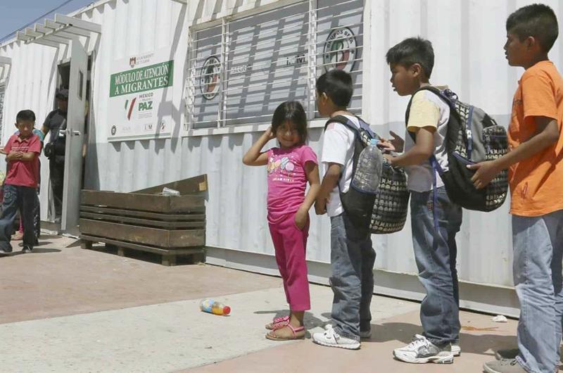 Atendió Migración a más de 10 mil niños sin acompañamiento