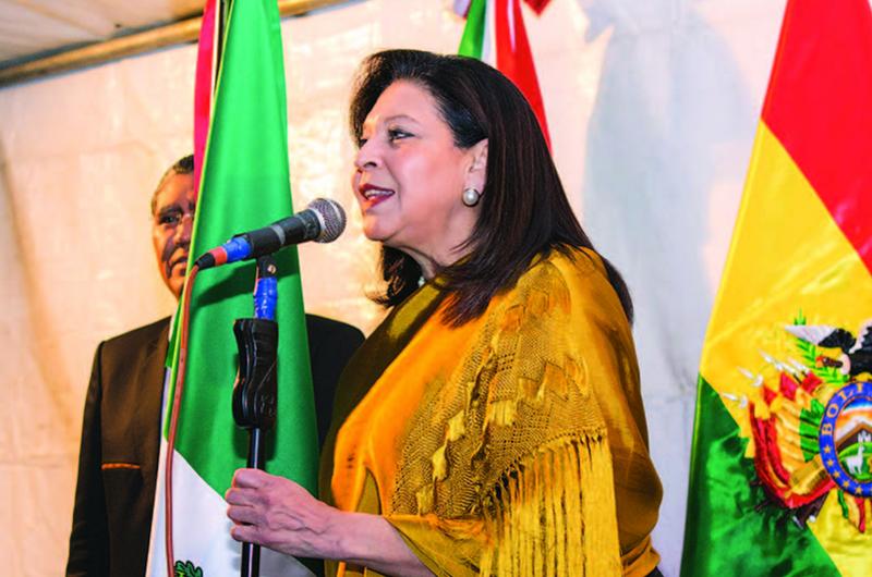 Embajadora Mercado agradece respaldo de AMLO