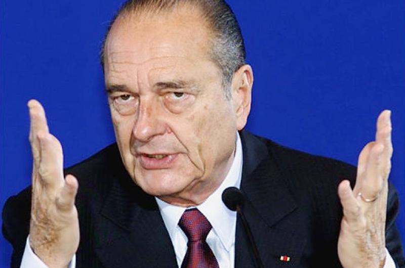 Conmoción mundial por muerte de Jacques Chirac