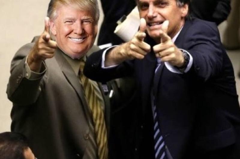 """Brasil y EUA """"trabajarán juntos"""" por """"cambios"""" en Venezuela y Cuba"""