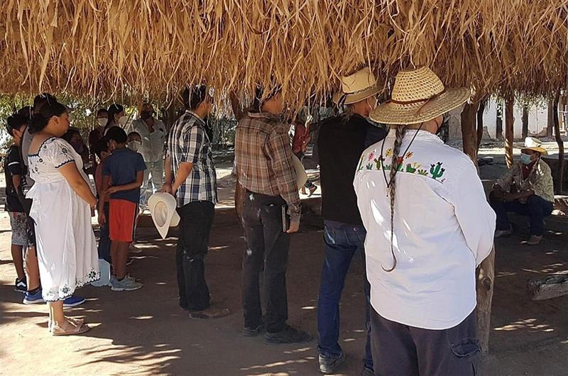 Yaquis organizan festival en protesta por construcción de acueducto en México