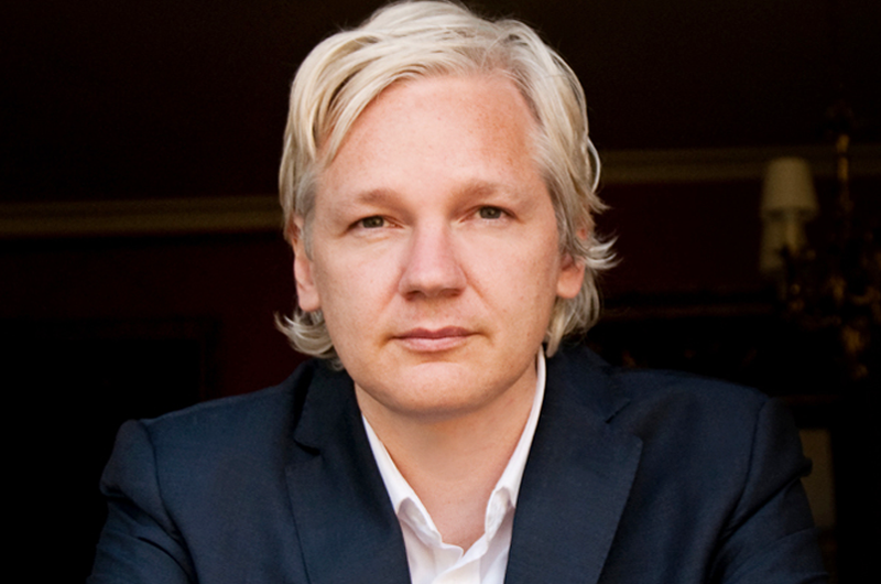 Julian Assange es víctima de persecución política WikiLeaks