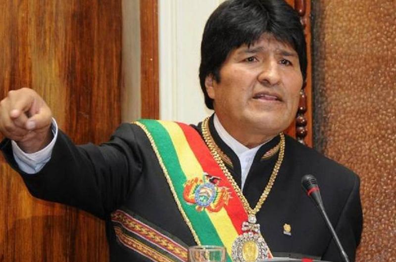 Trump se equivoca por pensar que es dueño del mundo: Evo Morales