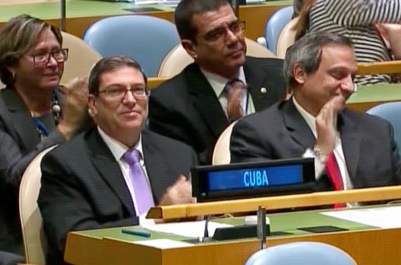 Analiza ONU resolución cubana contra bloqueo estadounidense