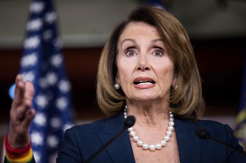 Trump trata a México como enemigo para desviar atención: Nancy Pelosi