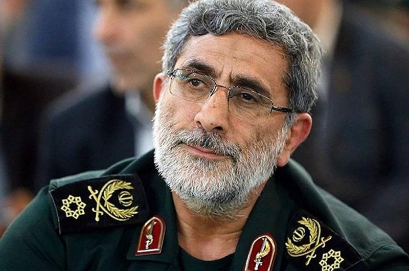 Nuevo jefe de la Fuerza Quds promete expulsar a EUA de Medio Oriente