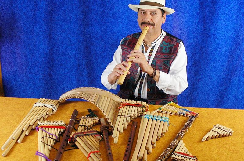 En 'Luces de Bohemia', Con las flautas... Flavio Martínez
