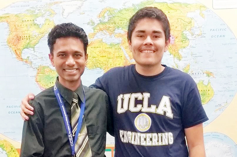 De Rancho HS a UCLÁ... Andrés Padilla hará realidad su sueño