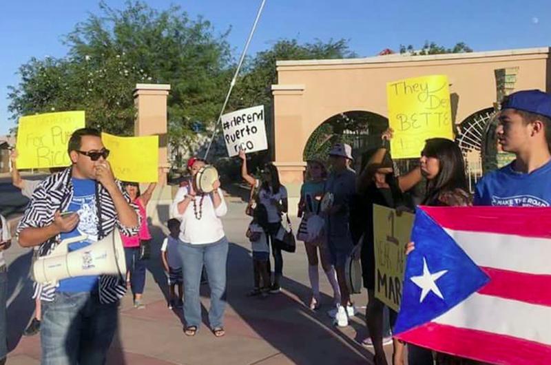 Enviaron mensaje a Trump puertorriqueños de Las Vegas