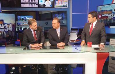 El miércoles 16 en el canal 34 de TV empieza nuevo servicio de noticias en español