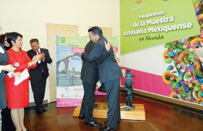 Estrechan relaciones Nevada y Estado de México, Firmaron acuerdo de cooperación Brian Sandoval y Eruviel Ávila