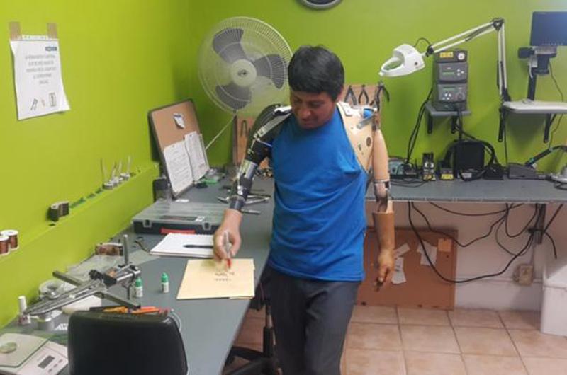 Desarrollo de tecnología mexicana logra prótesis de extremidades