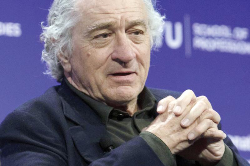 Recibirá Robert De Niro el Premio de Honor del Sindicato de Actores