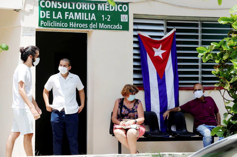 Cuba reduce los casos de covid-19 por cuarto día consecutivo