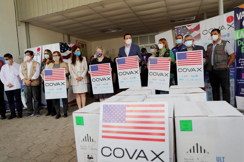 Honduras recibe cerca de 100 mil vacunas de Pfizer donadas por Estados Unidos
