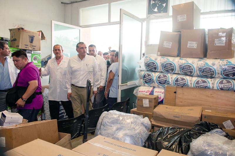 Garantiza Salud llegada de medicamentos a pacientes de Veracruz