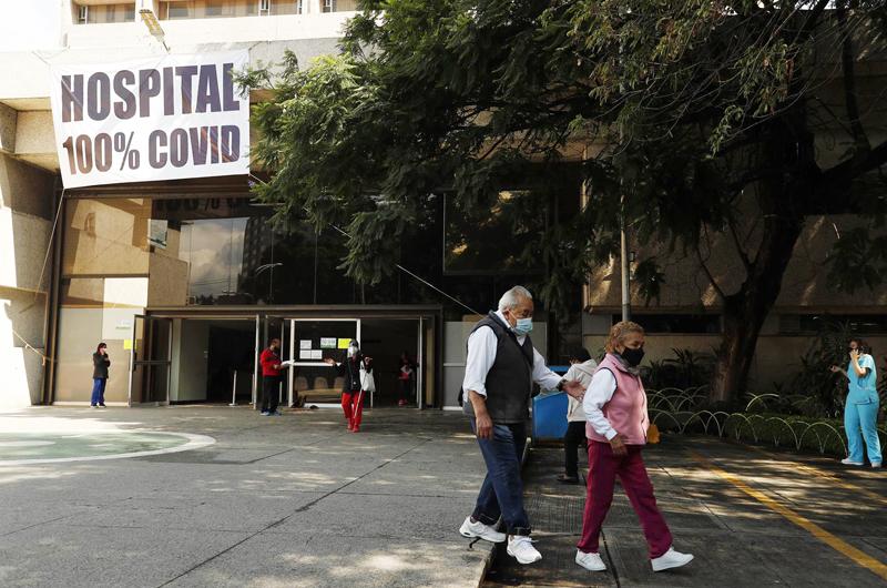 México acumula 263 mil 140 muertes y 3 millones 428 mil 384 de contagios por coronavirus