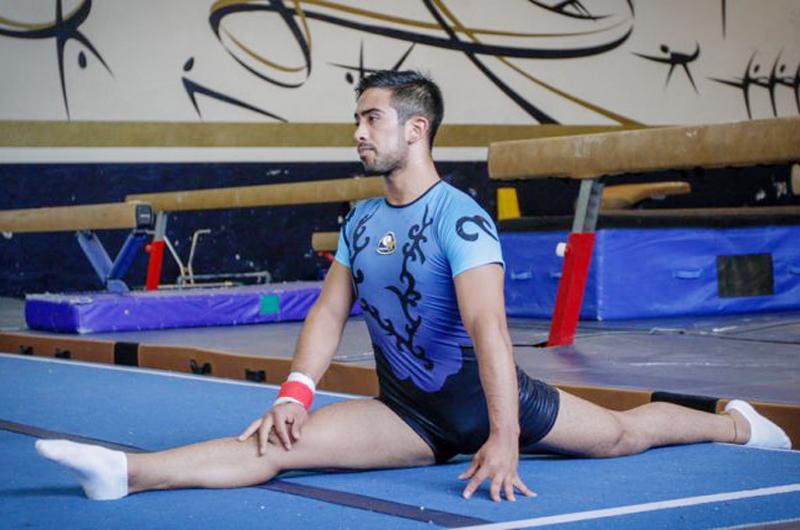 Salvador Sánchez Conejo tras el sueño de ser el mejor gimnasta del mundo