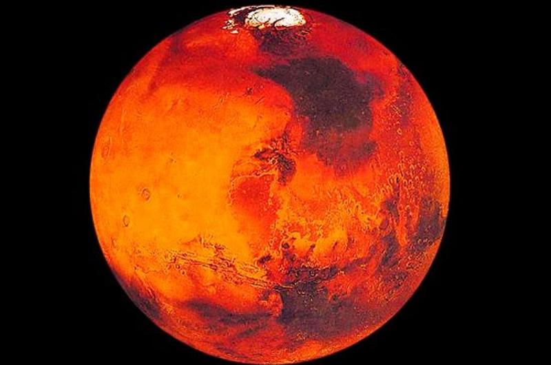 Mini satélite MarCo-B capta nueva imagen de Marte