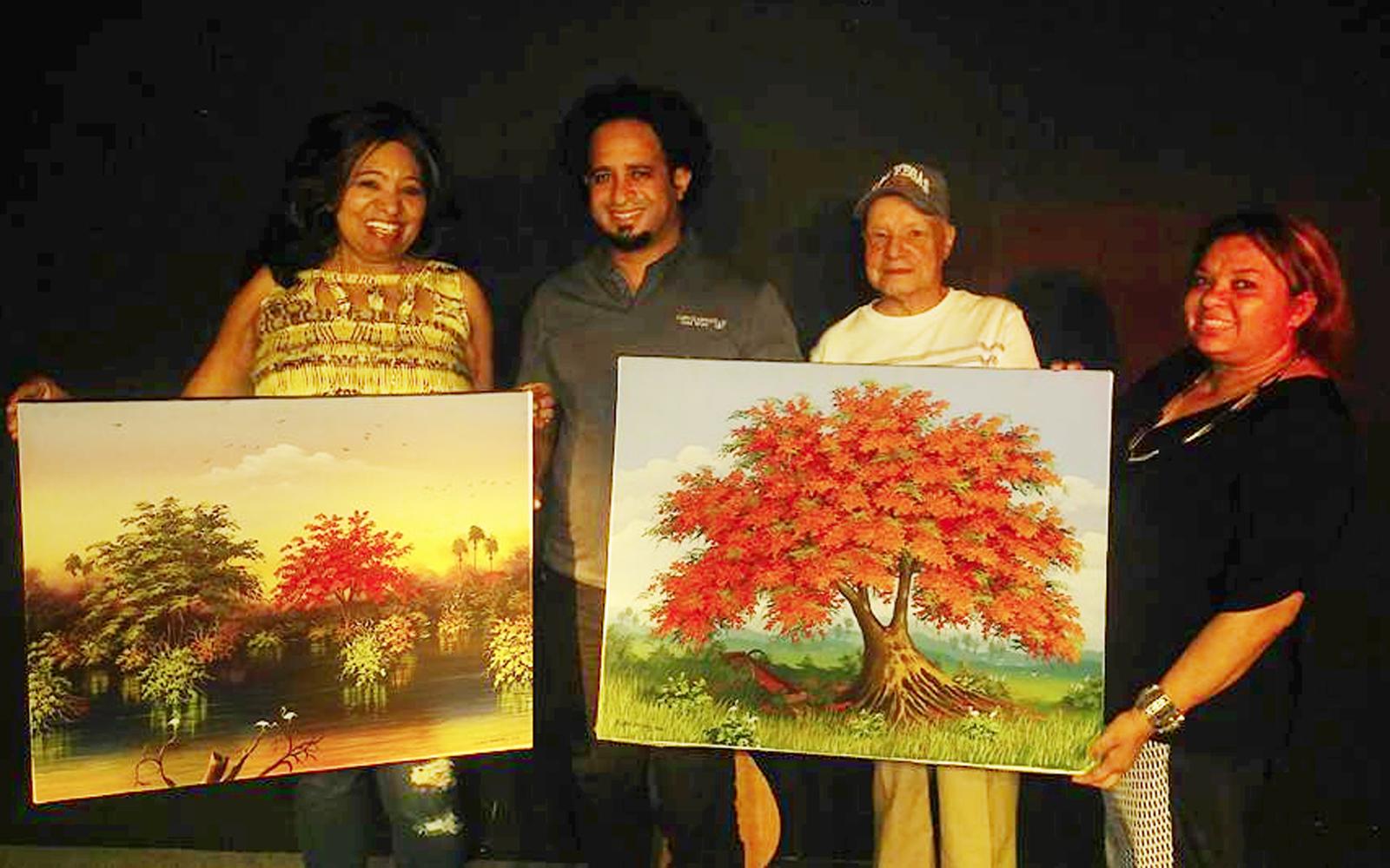 Martín, Porfirio y Rufino... Esos excelentes pintores dominicanos en LV