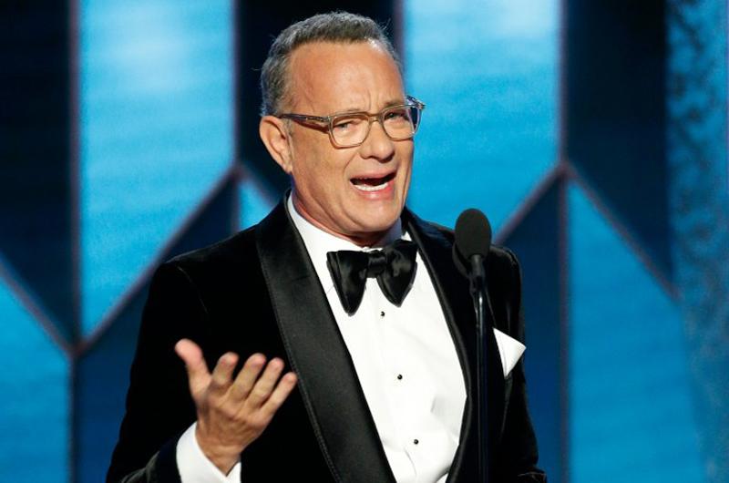 Tom Hanks, galardonado en los Globos de Oro por su trayectoria