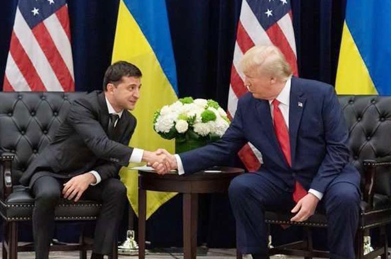 Prepara presidente ucraniano visita a Trump